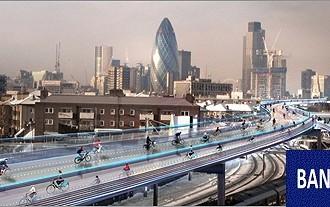 طرح نورمن فاستر برای مسیر دوچرخهسواری در لندن