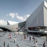 تحلیل و بررسی مرکز ورزش های آبی المپیک لندن اثر زاها حدید ،به همراه تصاویر و پلان های کامل