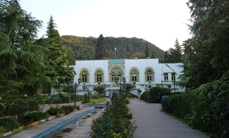 پروژه مرمت و احیای باغ شاه بهشهر