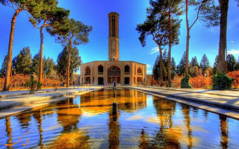 مرمت باغ دولت آباد یزد