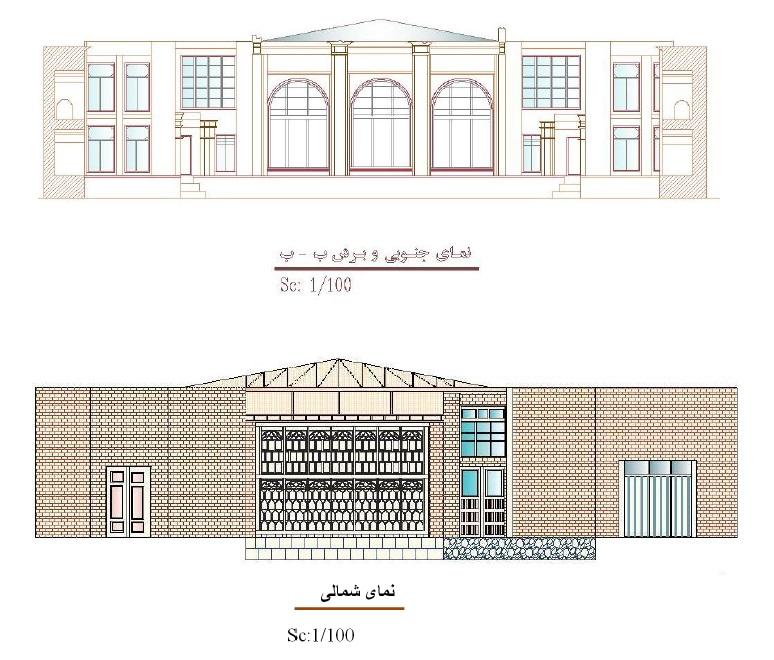 ویژگی های ساختمان حسینیه مجتهد اردبیل